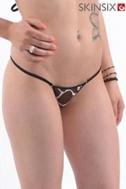 Skinsix BWU 150 Mesh giraffe Bikini-Slip String Gr. S, M, L