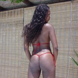 bikinini G500T Mini G-String Tie red Special offer!
