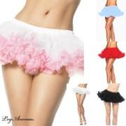 Leg Avenue 8993 Mini Chiffon Petticoat Einheitsgröße verschiedene Farben