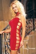 Leg Avenue 8260 Slinky Tube Dress with Open Side