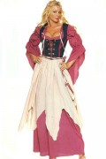 Leg Avenue 8970 4 PC. Renaissance Wench Size S