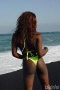 bikinini T400T-XXS Tanga Bikini Tie Top XXS