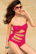 Dear-lover 40382 Super Sexy Secret One Piece Swimsuit black or violet-red