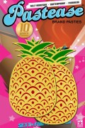 Pastease® Original Brand Pasties Pineapple on Yellow Glitter from USA