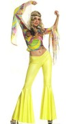 Leg Avenue 83109 2 PC. Hippie Costume Size S/M