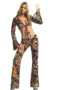Leg Avenue 83133 2 PC. Go-Go Girl Costume Size S/M