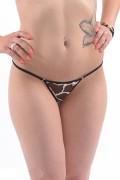 Skinsix BWU 170 Mesh Giraffe Bikini-Slip brasil-tanga Gr. S, M, L