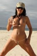 bikinini G100 Magic Crotchless Micro G-String No Coverage