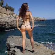 bikinini G400T-S Micro G-String Tie Bikini mit Top Größe S