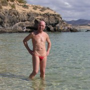 bikinini H100 Extrem heißer, durchsichtiger Herren Bademode Minitanga