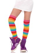 Leg Avenue 6334 Acrylic Rainbow Thigh Highs