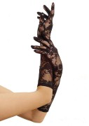 Leg Avenue G1850 Elbow length stretch lace gloves
