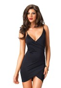 Leg Avenue LO86607 Dress Maria - Spandex Wrap Mini Dress